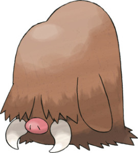 Very hairy.